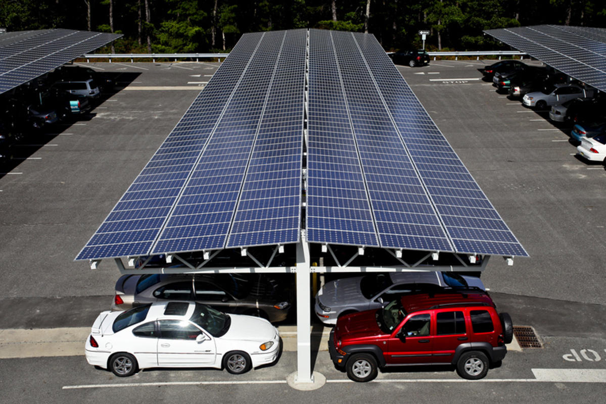 Off Grid Solar Carport : Portfolio jex energy