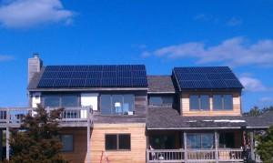 Off grid solar installation Keurbooms