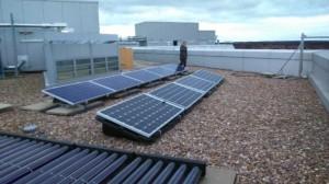 Commercial solar installation Doornfontien